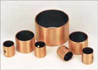 China Steel bronze powder with PEEK/PTFE marginal bearings on sale