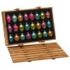 China Gift Fashion Colors Glass Egg Ornaments for sale