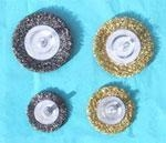 China Circular brushes crimped wire on sale