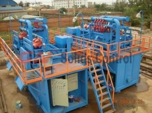 China Mud Cleaner Petroleum Drilling Fluid Circulation System on sale