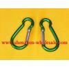 China 100pcs 4# aluminum alloy Carabiner for sale