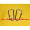 China 100pcs 6# aluminum alloy Carabiner V4 for sale