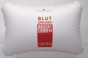 China Safety products PVC Inflatable Pillows / Cushion on sale