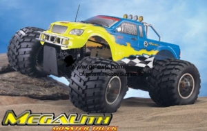 China 1/8 Scale GP Car Megalith Monster Truck on sale