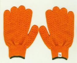 China T/C knitted gloves Product namepolyester criss cross gloveART.NO.P006 on sale