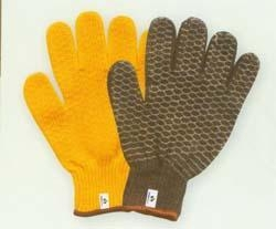 China T/C knitted gloves Product nameacrylic liner criss cross gloveART.NO.P007 on sale
