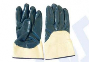 China nitrile palm coated glove on sale