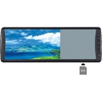Car Camera/Parking System Product 7inch  Rearview LCD Mirror Monitor with Memory Card [Order it!]