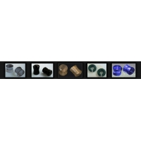 Lobe Plugs Exotic Semi-precious Gemstone Body Jewelry