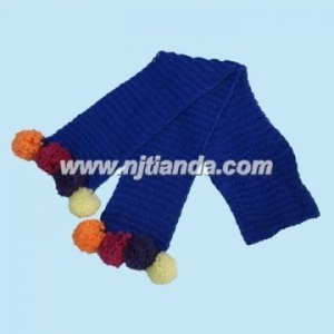 China hand knit scarf hand knitted scarf hand knitted scarf  TS8-00806 on sale