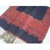 China Pashmina Shawl/Scarf Mercerized Wool Shawl for sale