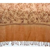 China Cashmere Shawl/Scarf Embroidered Cashmere Shawl for sale