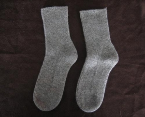 China Cashmere Socks/Slipper Luxury Cashmere Bed Socks on sale