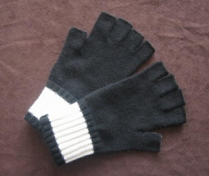 China Cashmere Gloves Women Fingerless Cashmere Gloves on sale