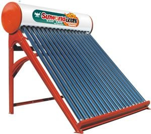 China Sunworld-A Deploy chart of solar water heater on sale