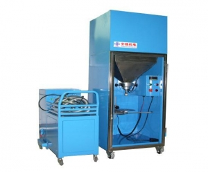 China Enviromental Fridge Shape Toner Filling Machine on sale