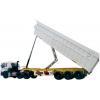China dump semi-trailer(back-dump) for sale