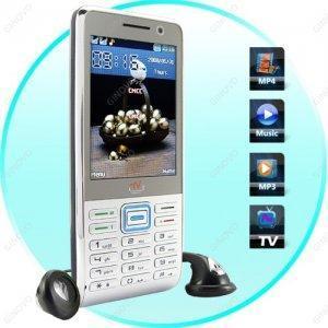 China Quadband Dual SIM GSM Worldwide TV Cellphone T39 on sale
