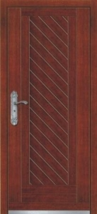 China Steel-wooden Armored door PVC fence (Vinyl fence) Product No.:4011305 on sale