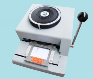 China PVC Card Embosser on sale