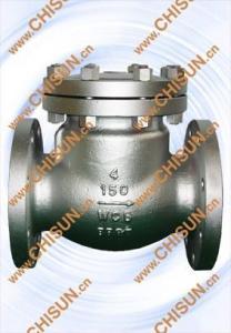 China check valve ANSI cast steel flange check valve on sale