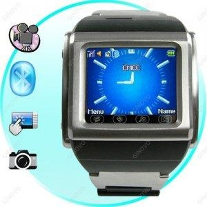 China Fortaleza - Quad Band Watchphone in Stainless Steel T104 on sale