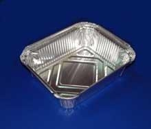 China Aluminium Tubes Trays for ready meals on sale