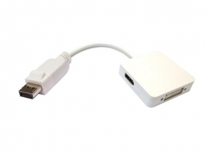 China DisplayPort DisplayPort  to DP+HDMI+DVI adapter on sale