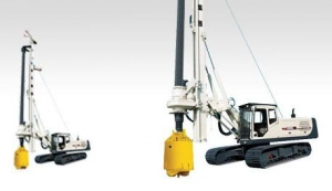 China XR120A Earth Moving Machinery  Hydraulic Drilling Rig on sale