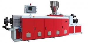 China SJZT Series Co-rotating Conical Twin-screw Extruder on sale