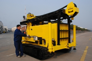 China KW20 water well drilling rig on sale
