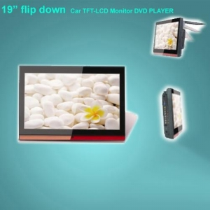 """China 19"""" flip down Car TFT-LCD Monitor DVD PLAYER on sale"""