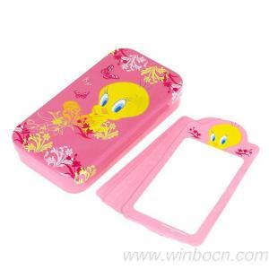 China Tin box Memo pad box O8C006 on sale