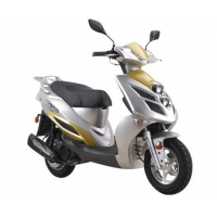 New Product Electric And Gasoline Hybrid Scooter HEV06