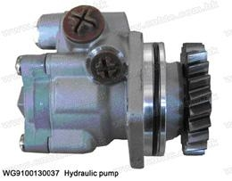 China Parts of the total Product name :WG9925470037 steering power assisted vane pump on sale