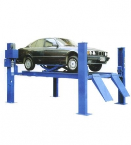 China Computerized Vehicle Check commodity name:Double plate four post lift on sale