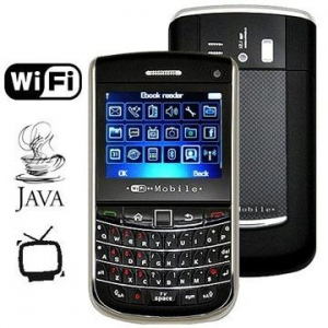 China 9700++ Dual SIM Dual Standby QWERTY WIFI JAVA TV Mobile phone with dual cameras on sale
