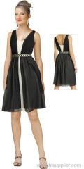 China Cocktail Dress Black Cocktail Dress EYC012 on sale