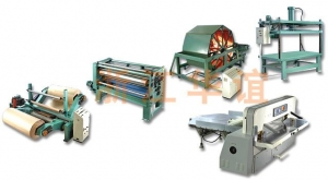 China 1800 Longitudinal Glue-smearing Paper Core Production Line on sale