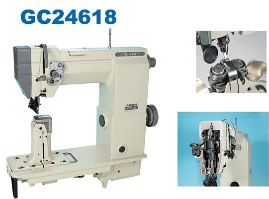 HIGHLEAD Postbed Compound Feed Lockstitch Sewing Machine With Enchanting Highlead Sewing Machine China