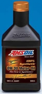 China Amsoil Signature Series 0W-30 Synthetic Engine Oil on sale
