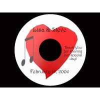 China Shape CD/DVD Replication BLANK CD-R CET-1006 on sale