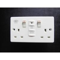 China RCD safety socket BKZ-0200SPW on sale