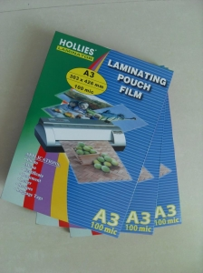China A3 laminating film on sale