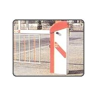 China Sectional Overhead Doors Parking Barriers Parking Barriers on sale