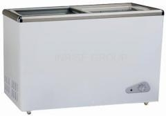 China glass door chest freezer on sale
