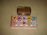Plastic self-inking stamp