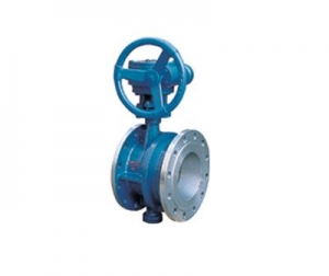 China Butterfly valve-Work Wheel Flexible Hard Seal Butterfly Valve on sale