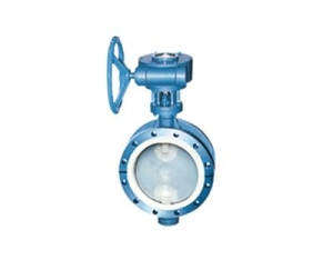 China Butterfly valve-Flange Type Butterfly Valve with Fluorine Lining on sale