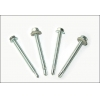 China Hex Head Self-drilling screw >>HexwasherheadSelf-drillingscrewswithEPDMwashers for sale